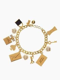 so charming — the charming charm bracelet by kate spade new york (february 2014) - got it