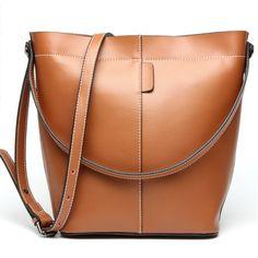 Europe tote bag genuine leather shopping bags handbag reversible tote women bag
