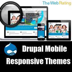 Best Drupal Mobile Responsive Themes Mobile Responsive, Computer Internet, Drupal, Meditation, Social Media, Technology, How To Plan, Business, Tech