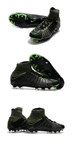 buy online fcf64 d623b Chaussures Nike HyperVenom Phantom III Dynamic Fit FG Noir Volt