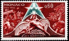 """Mónaco 1968 - Novela """"Los Mártires"""" escrita por François-René de Chateaubriand"""