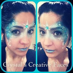 Frozen Mask by Crystals Creative Faces