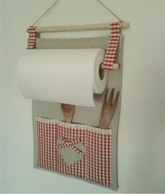 Kitchen roll holder n other lovely holders