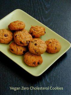 Vegan Zero Cholestrol Cookies