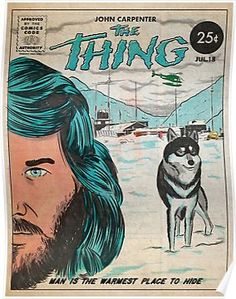 The Thing Movie Poster Poster