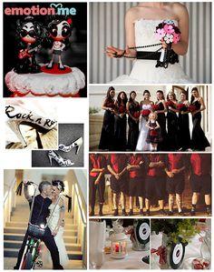 #Inspiração: Casamento Rock'n'Roll