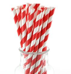 Shop Stylish Party Supplies and Tableware with Next Day Delivery. Retro paper straws Each pack includes 25 sturdy paper straws Beautiful quality - FDA approved and biodegradable Circus Party Games, Circus Party Supplies, Circus Carnival Party, Camping Party Decorations, Red Party, Woodland Party, Paper Straws, Party Bags, Biodegradable Products