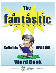 IMSE's Orton-Gillingham Catalog of Orton Gillingham Materials //  Comprehensive Syllable Division Word Book The Syllable Division Word Book provides teachers with hundreds of words for the seven syllable types that students can decode and encode.  $19.99