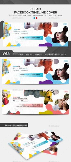 Facebook Cover Template, Facebook Timeline Covers, Social Media Template, Social Media Design, Youtube Banners, Kids Branding, Fb Covers, Web Design, Graphic Design