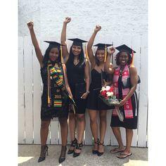 BLACK POWER #hbcugrad #collegegrad #blacklivesmatter ✊✊