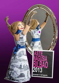 Cartel Aste Nagusia 2013 | Bilbao tiene unas fiestas 'de cine' | Bilbao