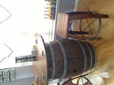 Beautiful barrel decor stylishly done