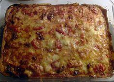 Chorizo-tomaatti piirakka