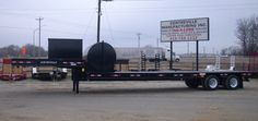 Completed 30 ton drop deck trailer!
