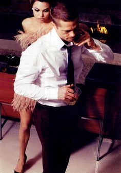Angelina Jolie & Brad Pitt Brad And Angie, Brad Pitt And Angelina Jolie, Jolie Pitt, Gentleman Mode, Gentleman Style, W Magazine, My Funny Valentine, Vogue, Glamour