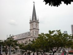 CHIJMES: Used to be a Catholic convent (Convent of the Holy Infant Jesus=CHIJ) , now restaurants and bars in the area. Fun.