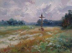Karpno koło Lipnicy, krzyż na rozstajach