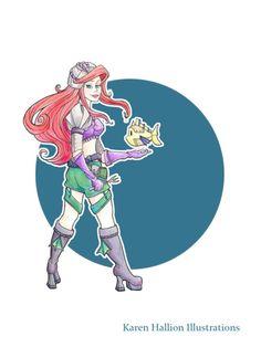 Disney Steampunk Ariel2