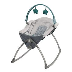 The best moments in the day are the ones spent with baby, make the most of precious time with the Graco Little Lounger. This rocker has a seat that doubles as a rocker or a vibration lounger, giving you the flexibility to move around the house.