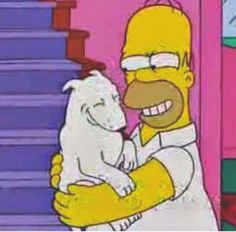 Even The Simpsons Had A Bull Terrier