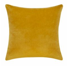 Lulu and Georgia Charlotte Velvet Pillow, Goldenrod Pillow Inspiration, Velvet Pillows, Simple Shapes, Your Space, Decorative Throw Pillows, Color Pop, Georgia, Charlotte, Contemporary