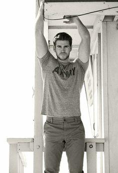 Liam Hemsworth as Brad Silverstone in 'The Third Lover': http://www.amazon.com/dp/B00GZPVUOE