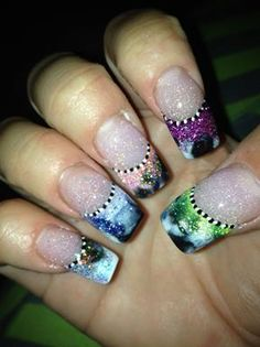 Acrylic Nail Design - see more nail designs on http://naildesigngallery.com