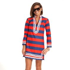 Red Reef Classic Tunic Dress