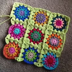 Continuous Join-as-you-go: #crochet tutorial