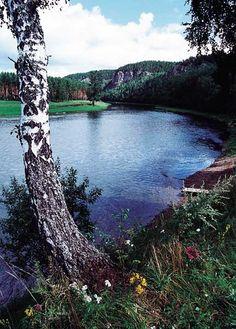 река Ай, Южный Урал, Россия