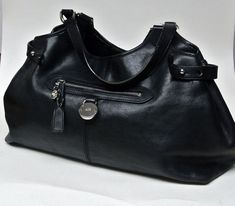 Authentic MULBERRY bag black SOMERSET TOTE leather shoulder  Mulberry  Mulberry Bag 73cb8f808e0e3
