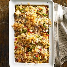 The Ultimate Chicken and Noodle Casseroles.  All from Better Homes and Gardens.. Some in this collation are very good.  Renee.