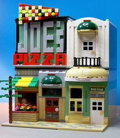 Lego Joe's Pizza The Chanteclair & Brick Travel 01 | by 60sfunnycars
