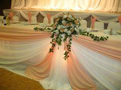 Table d'honneur #hibiscusevents #decoration #mariage