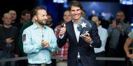 Le numéro un mondial du tennis, Rafa Nadal s'est imposé lors du Charity Challenge de l'EPT en battant la légende du football brésilien Ronaldo ainsi que le numéro un mondial du poker, Daniel Negreanu. http://www.kalipoker-fr.com/news/rafa-nadal-remporte-un-tournoi-de-poker-a-prague.html