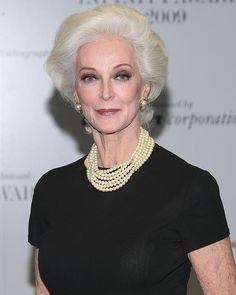 At 81 Carmen Dell'Orefice is pure elegance.