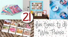 21 Fun Things To Do With Your Holiday Photos!