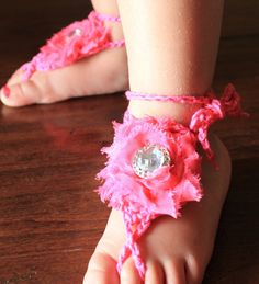 Barefoot Sandals Hot pink Shabby Rose #hotpink #pink #crochet #Etsy   Collective   barefoot sandals   barefoot sandals wedding   barefoot sandals diy   barefoot sandals baby   barefoot sandals crochet   Barefoot Sandals By Iris   Happi Feet Barefoot Sandals   California Barefoot Sandals   barefoot sandals and other foot jewelry   barefoot sandals   barefoot sandals  