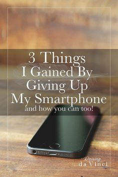 3 Things I Gained By