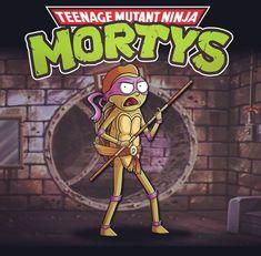 Rick and Morty - Donatello x Teenage Mutant Ninja Turtles