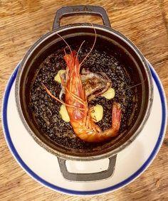 Arroz con Gamba   Los días de mar son días de arroz gambas y productos del mar. Sin salir de Barcelona se pueden disfrutar de deliciosos arroces como este en el @chichalimona