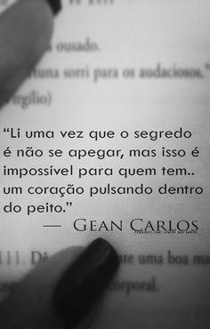 — Gean Carlos