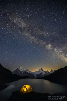 Milky Way over Bachalpsee by Rolf Sterchi on 500px