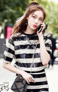 ــ Lee Sung Kyung Cheese in the Trap Ulzzang Fashion, Kpop Fashion, Asian Fashion, Asian Actors, Korean Actresses, Korean Actors, Korean Celebrities, Celebs, Jong Hyuk