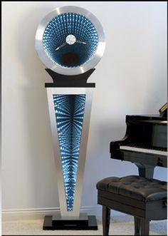 Artist Doug Durkee - Contemporary Grandfathers Clock Wow! Amazing!