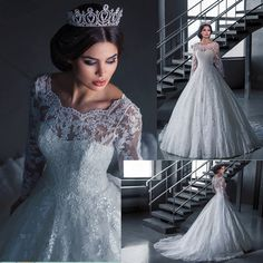 I found some amazing stuff, open it to learn more! Don't wait:https://m.dhgate.com/product/2016-ball-gown-lace-long-sleeves-plus-size/371964917.html