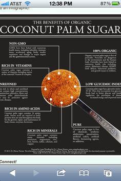 Benefits of coconut sugar