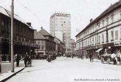 Bratislava, Old Street, Old Photos, Foyer, Milan, Arch, Street View, Photography, Travel