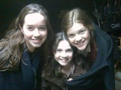 Susan, Gael, and Lucy