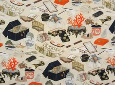 Hokusai's Ephemera by Louie Rigano. One of the 10 finalists of the Rijksstudio Awards 2015.